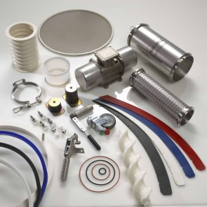 Full range of spares for sieves and filters